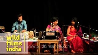 Rabindra Sangeet by classical vocalist Chandrabali Rudra Dutta in Delhi Mp3