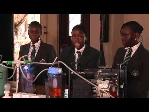 School girls in africa develop a Generator Powered by URINE.mp4
