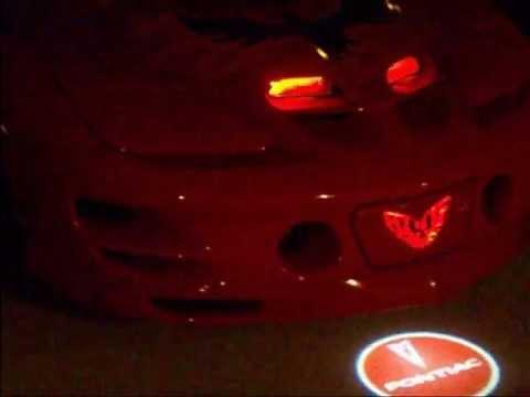 Pontiac Firebird Trans Am Laser Courtesy Lights Youtube