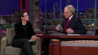 Rachel Maddow on the Letterman Show (01/07/2010)