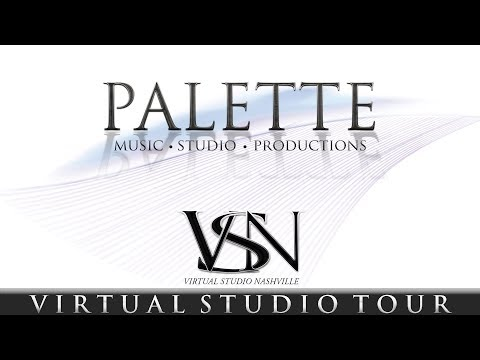 Palette Music Studio Productions Virtual Tour | VSN Online Recording