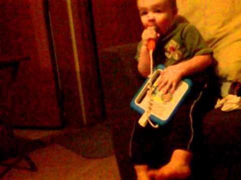 Aedan sings the Hotdog Song