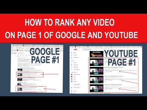 How To Rank Videos On Page 1 of Google and YouTube In 2017 And Beyond