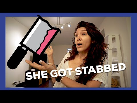 I WITNESSED A STABBING (I wish this was clickbait)