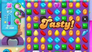 Candy Crush Soda Saga Level 1366 (buffed, 3 Stars)