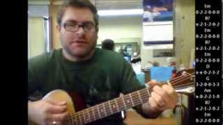 How to play We Three Kings Of Orient Are on acoustic guitar (Christmas Song)