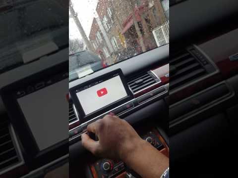 Audi A8 D3 MMI 2G Custom Touch Screen Entertainment System