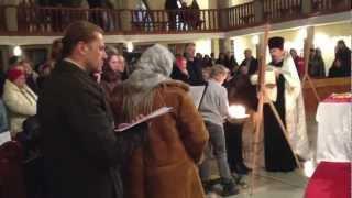 Рождественская православная служба в Хевизе.(Рождественское православное богослужение в Хевизе в церкви Святого Духа. 6-7 января 2013 года. Венгрия. Читай..., 2013-01-07T14:30:48.000Z)