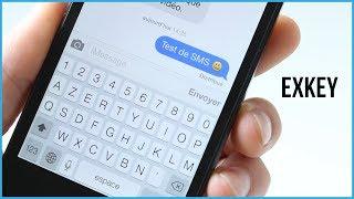 ExKey : Une cinquième ligne sur le clavier iOS 7