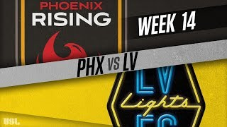 Phoenix Rising FC vs Las Vegas Lights FC: June 13, 2018