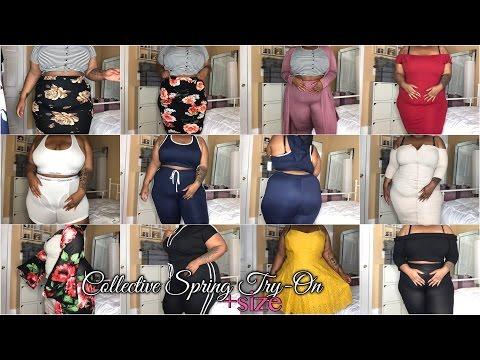 Collective Spring Try-On Haul | Plus Size | Scentbird, Calvin Klein, GS LOVE, Fashion Nova