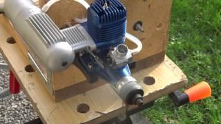 Rodage moteur OS 65 LA