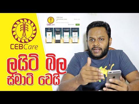 Smart Electricity Bill - CEB Care Mobile App
