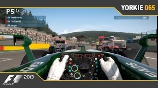 Video F1 2013 Multiplayer: Tricky Spa download MP3, 3GP, MP4, WEBM, AVI, FLV Mei 2018