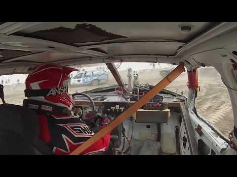 Weekend of Wreckage 2017 Fullsize Straight Stock Derby In-car