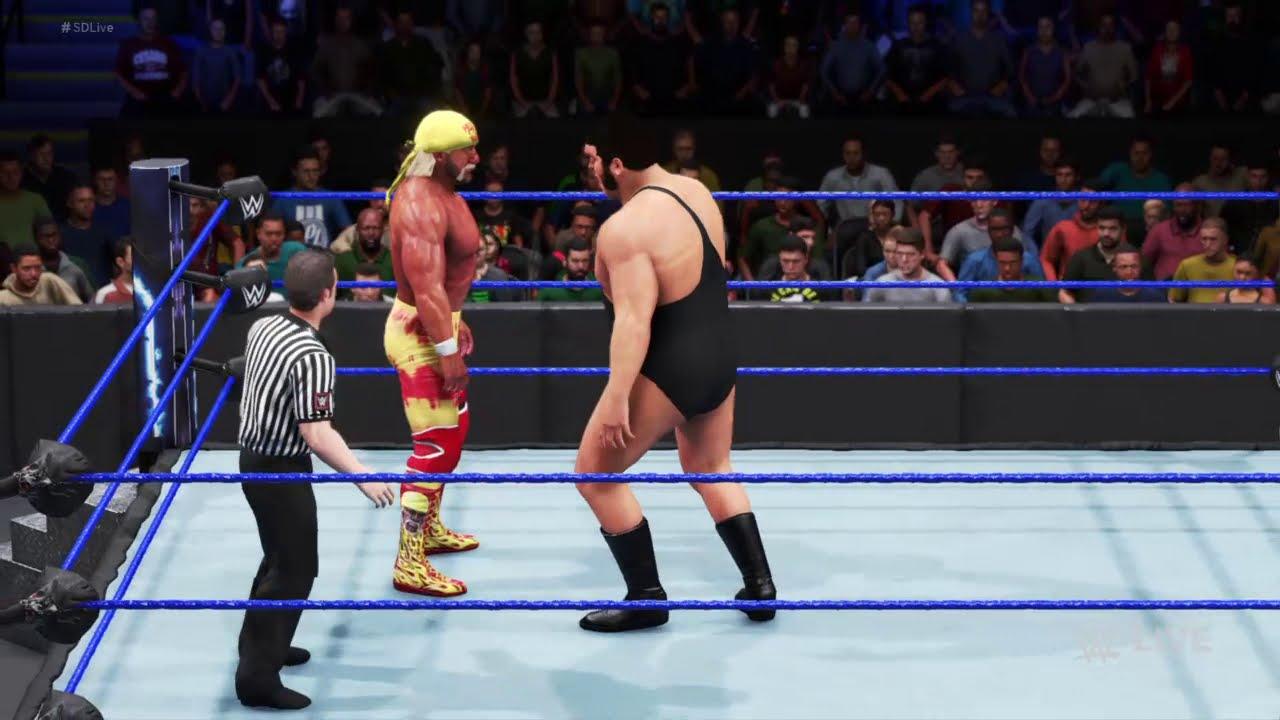 FULL SEGMENT - Hulk Hogan Looks Back On The Main Event 33 years Ago Smackdown Feb 5 2021 WWE2K20 HD