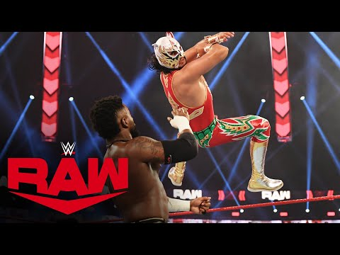 Riddle & Lucha House Party vs. The Hurt Business: Raw, Feb. 15, 2021