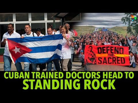 Cuba-Trained Doctors Travel to Standing Rock