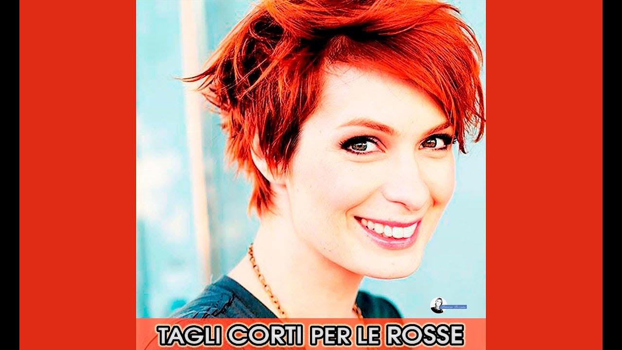 Tagli Corti Per Capelli Rossi - YouTube
