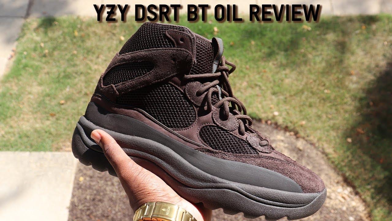 Yeezy Desert Boot Oil In Depth Review
