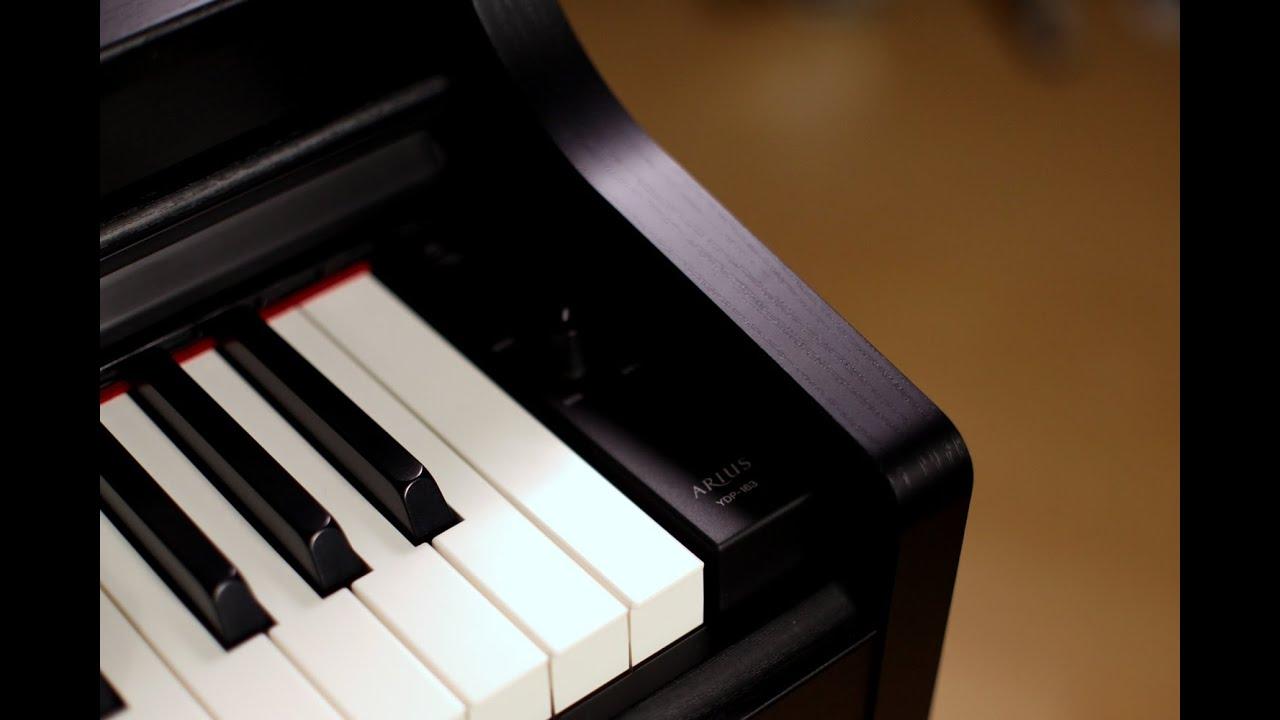 yamaha arius ydp 163 digital piano demo youtube. Black Bedroom Furniture Sets. Home Design Ideas