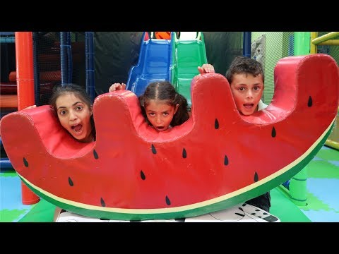 Birthday Party Indoor Playground Kids Fun - Heidi is 6 ! Family Vlog Video