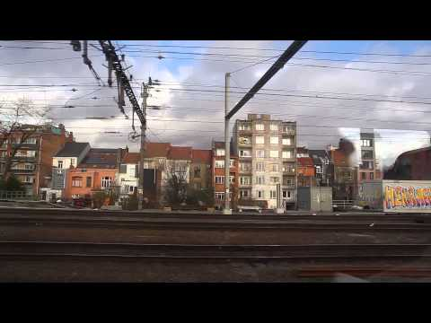 on the Intercity Brussels to Bruges (IC Bruxelles-Brugge)
