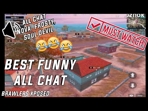 BRAWLER XPOSED 😂😂 | FUNNY ALL CHAT MOMENTS | GAME ROOM COMPETITIVE CUSTOMS |