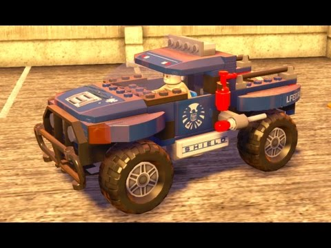 LEGO Marvel's Avengers - All Land Vehicles Unlocked (Quick ...