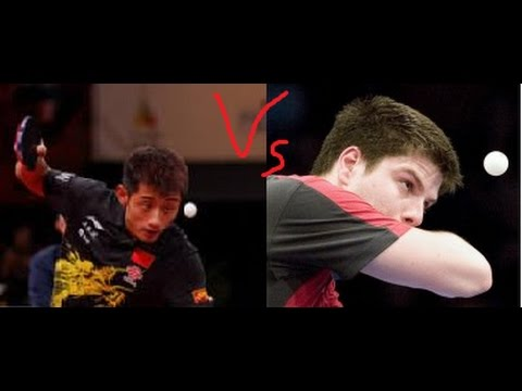 Clash Of The  Backhands II - Zhang Jike Vs Dimitrij Ovtcharov