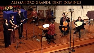 Alessandro Grandi: Dixit Dominus; Venetian Christmas Vespers, Voices of Music