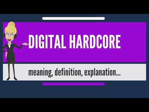 What is DIGITAL HARDCORE? What does DIGITAL HARDCORE mean? DIGITAL HARDCORE meaning & explanation