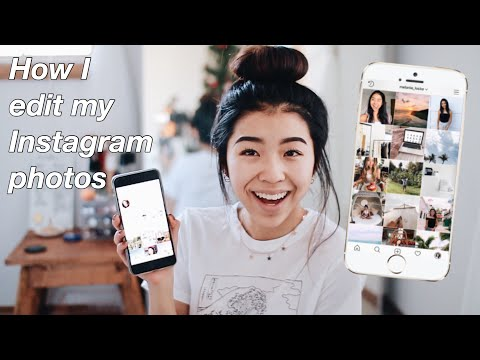 How I edit my instagram photos!!