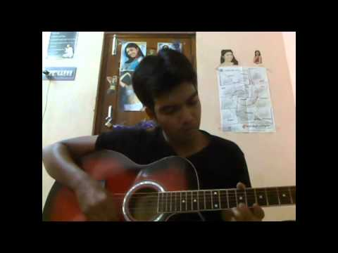 chali chaliga song guitar play