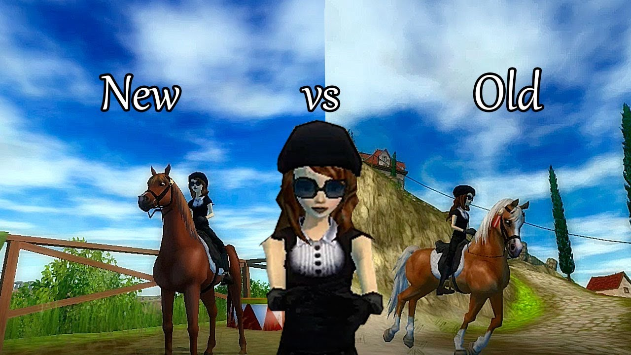 Star Stable Old VS New arabian YouTube