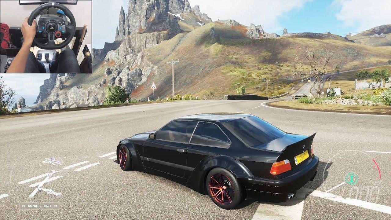 BMW M3 E36 - Forza Horizon 4 Fortune Island | Logitech g29 gameplay