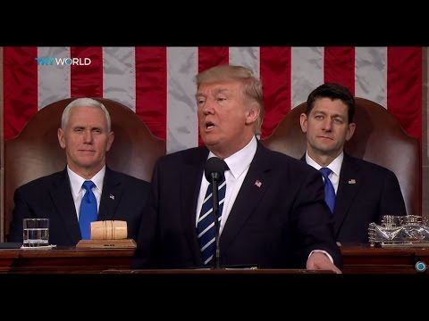 The Trump Presidency: US President makes formal address to Congress