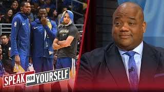 Jason Whitlock says the Warriors are a more unlikeable dynasty than Patriots | SPEAK FOR YOURSELF