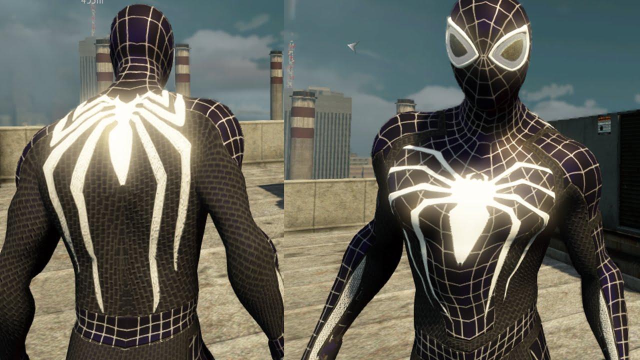 Ps4 Spider Man Black Suit Free Roam Gameplay The Amazing