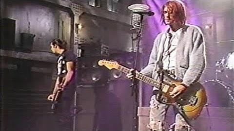 nirvana  smells like teen spirit  live snl 1992