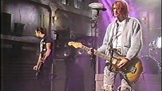 Nirvana - smells like teen spirit - (Live SNL, 1992)