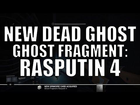 Ghost Fragment: Rasputin 4 - TTK New Dead Ghost - Fallen S.A.B.E.R Strike