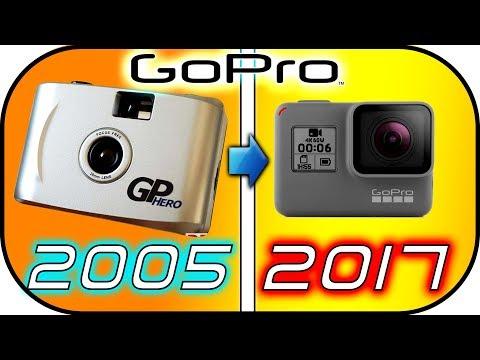 EVOLUTION of GoPro action cameras (2005-2017) gopro 35mm