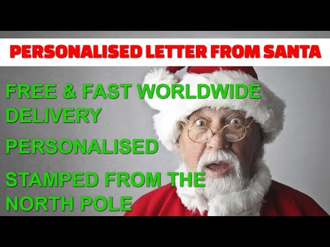 Personalised Letter From Santa thumbnail