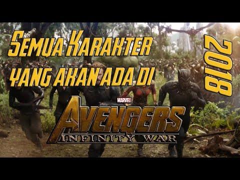 Ini Dia ! Semua Karakter yang akan ada di Avengers Infinity War ! Breakdown Indonesia