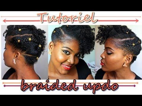 Coiffure Facile Pour Cheveux Crepus Courts A Moyens Youtube