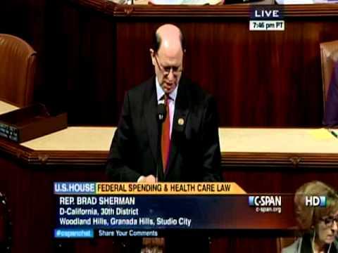 09.28.13 Sherman Speaks on House Floor on Avoiding Government Shut-Down