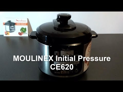 Мультиварка-скороварка MOULINEX Initial Pressure CE620