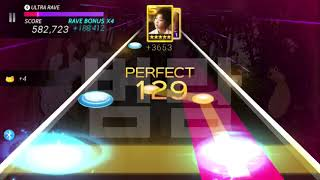 F(x) - Airplane ✈️ (Hard) ALL Perfect Play [SuperStar SMtown…