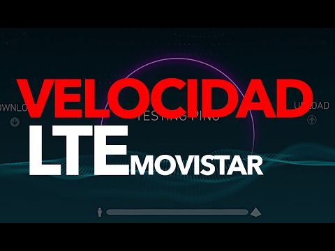 SPEEDTEST: Movistar LTE